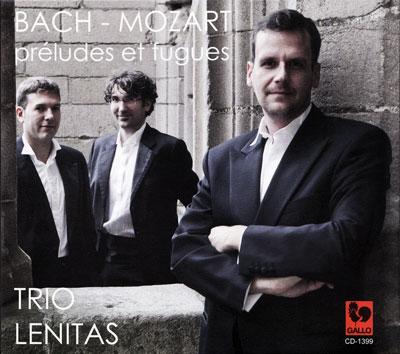 CD Trio Lenitas Bach Mozart