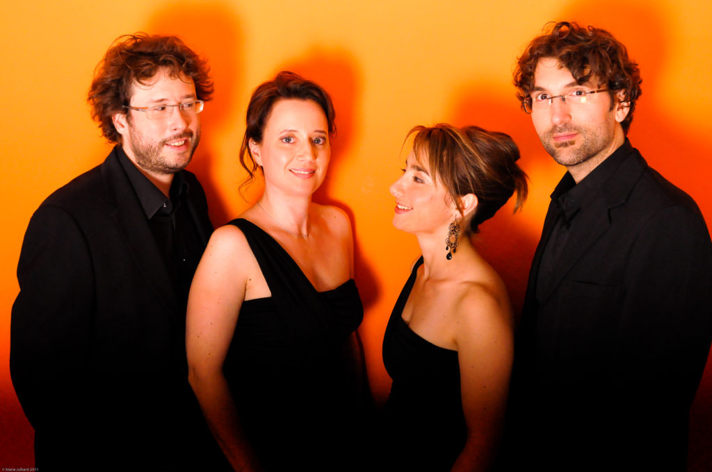 Quatuor Psophos 14 © Marie Julliard