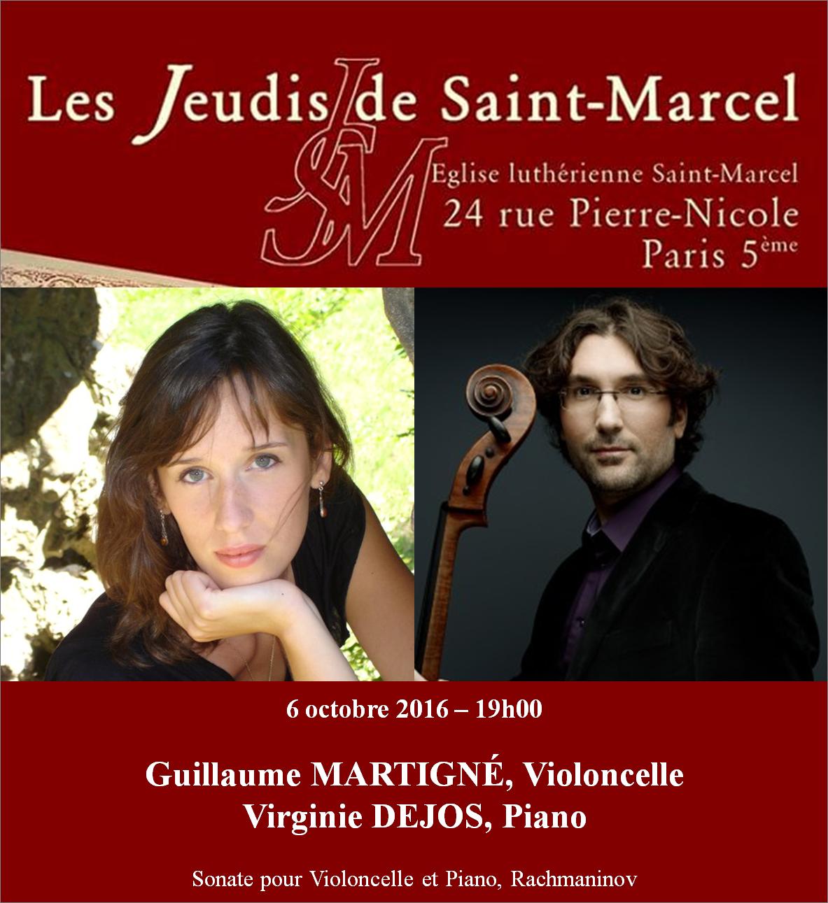 Violoncelliste Guillaume Martigné